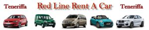 Teneriffa Mietwagen Red Line Rent a Car.